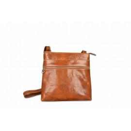 Mhateria - Leather shoulder pocket bag - 23