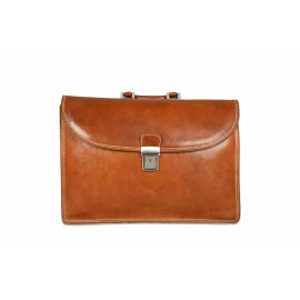 Mhateria - Leather briefcase - 26