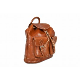 Mhateria - Leather backpack - 24