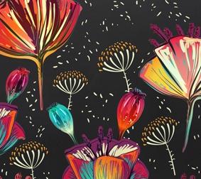 NERO FLOWER ART